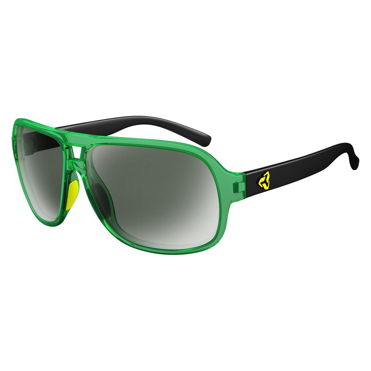 Ryders Eyewear Pint偏光サングラス – 2トーン  GREEN XTAL-BLACK / GREEN LENS FM B01E81CEFK