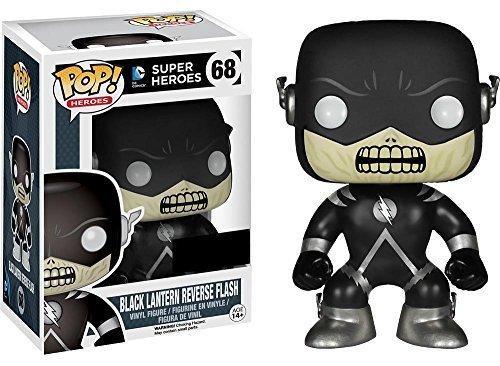 Funko Pop! DC Heroes #68 Black Lantern Reverse Flash - Hot Topic - Uk Warehouse Discount