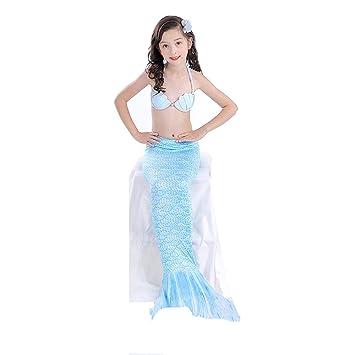 XDH Bikini Ajustable para Nadar Traje De Bano Sirena,Chicas ...