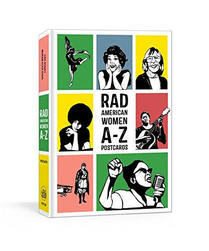 Rad American Women A-Z Postcards (Rad Women)