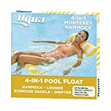 AQUA 4-in-1 Monterey Hammock Inflatable Pool Chair