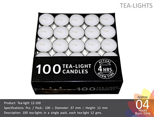 Nanki Trades Round Wax Tea Light Candles