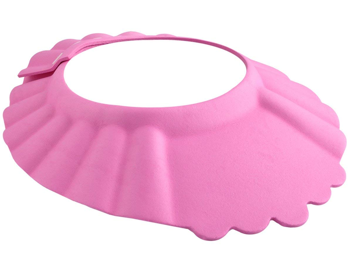 Baby Duschkappe Duschhaube Kinder Badekappe Hut Badehaube Shampoo Augenschutz