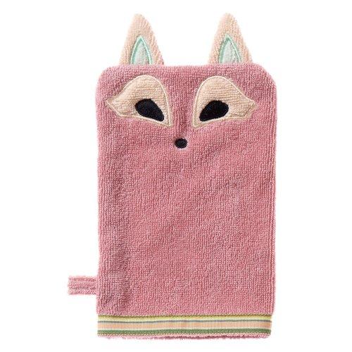 Bath Bear Wash Mitt (Breganwood Organics Bath Mitt, Playful Fox Woodland Collection)