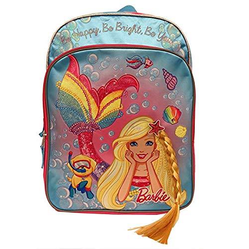 (Mermaid Barbie Accessory Innovations Backpack Girls Side Mesh)