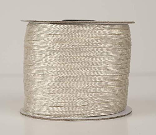 Ecru-Flat Shawl Fringe Spool -244 yds per spool