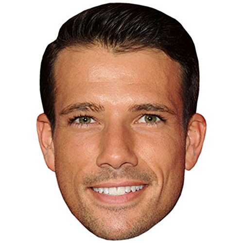 Danny Mac Celebrity Mask, Card Face and Fancy Dress Mask