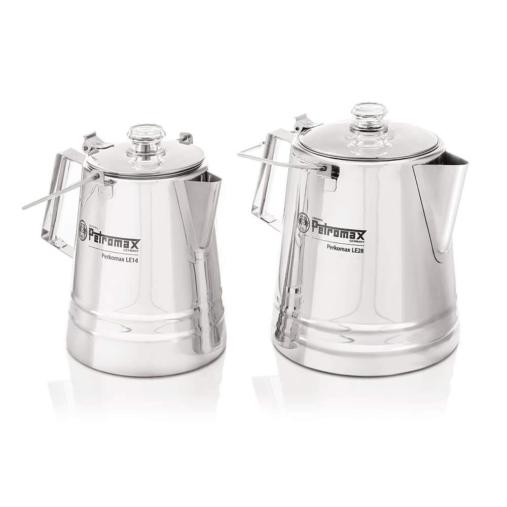 Petromax Stainless Steel Perkomax Percolator - 9-Cup by Petromax