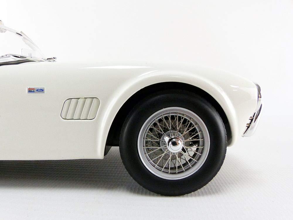 Norev 1963 Shelby AC Cobra 289 Coupe White 1//18 Diecast Model Car 182752