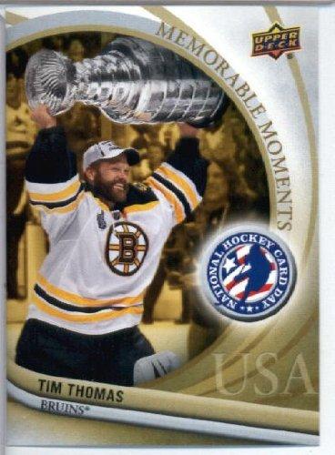 2012 Upper Deck National Hockey Day#16 Tim Thomas Boston Bruins Hockey Trading Card - Hockey Tim Thomas