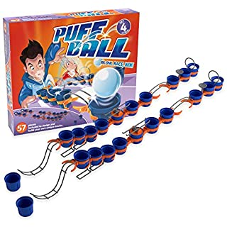 TOMY Puff Ball Party Game, Extreme Set, T73064, Multi