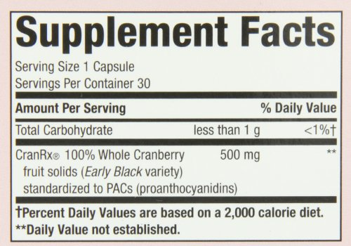 033674152898 - CranRX, Cranberry 30 Vcaps by Nature's Way (Pack of 6) carousel main 1