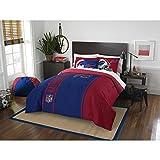 Buffalo Bills Comforter Set Bedding Shams NFL 3 Piece Full Size 1 Comforter 2 Shams Football Linen Applique Bedroom Decor Imported Sold byMBG.4u.