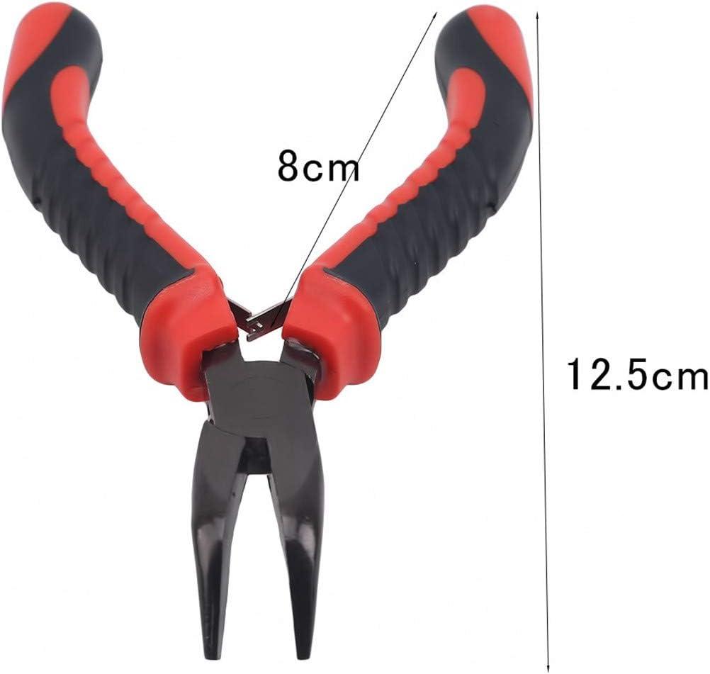 Bouche Oblique de 4,5 Pouces Kissherely 4.5 Pince Mini CRV Pince coupante Diagonale c/âble de cuivre Pince de r/éparation Pince Bricolage Outils /à Main /électroniques