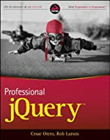 Professional jQuery Front Cover