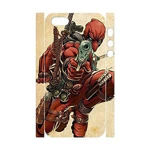 GTROCG Deadpool Marvel Phone 3D Case For iPhone 5,5S [Pattern-3]