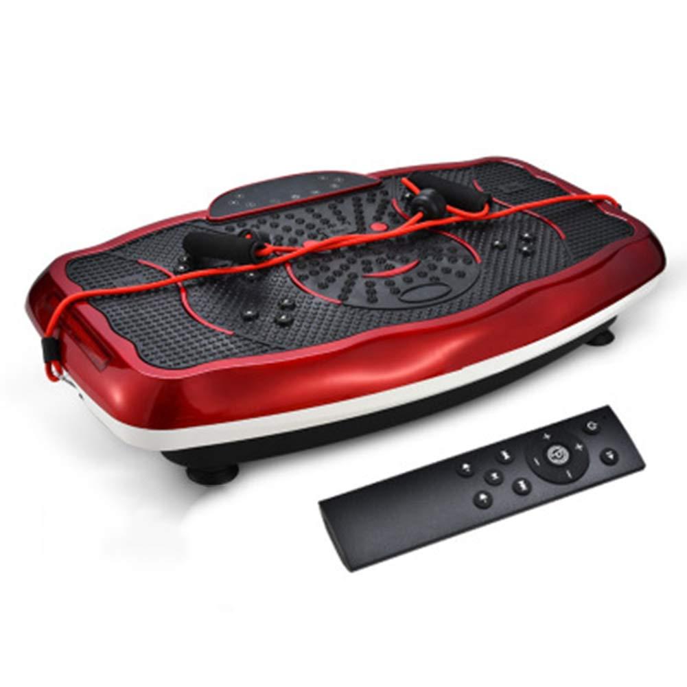 DONG Vibrationsleistungsplatte mit Blautooth-Musik & Magnetisch Therapie Passen Massage Fitness (220V