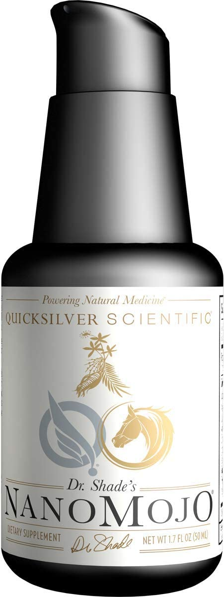 Quicksilver Scientific NanoMojo – 19 Herb Liposomal Adaptogenic Tonic with Tribulus, Epimedium, Rhodiola Reishi, Herbal Support for Endurance Vigor 1.7oz 50ml