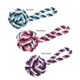 Rope Toys For Dogs 12 Inch ''Large'' Top Knot Tug Dog Toy With 5 Inch Knots
