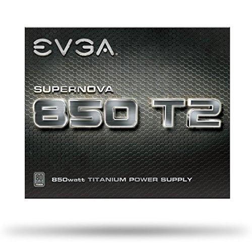 EVGA SuperNOVA 850 T2, 80+ TITANIUM 850W, Fully Modular, EVGA ECO Mode, 10 Year Warranty , Includes FREE Power On Self Tester, Power Supply 220-T2-0850-X1 by EVGA (Image #7)