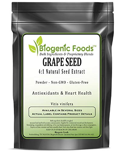 Grape Seed - 4:1 Natural Seed Powder Extract (VIT is vinifera), 10 kg by Biogenic Foods (Image #2)