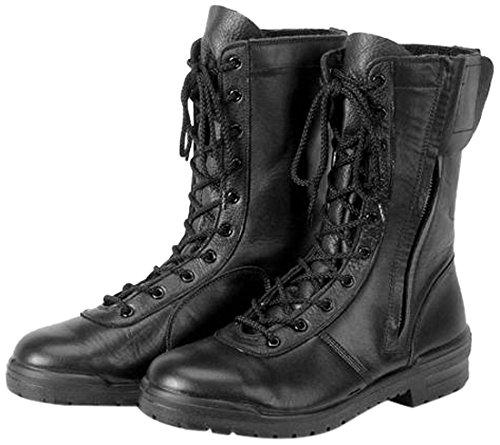 青木産業 安全靴 Impact100 紐式 編上靴 黒 D-300 27.5CM B00O7P9R6W