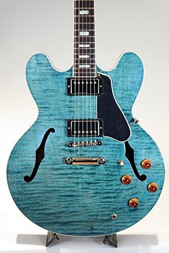 Nueva Memphis Gibson ES-335 Figured/turquesa manchas 2016 guitarra ...