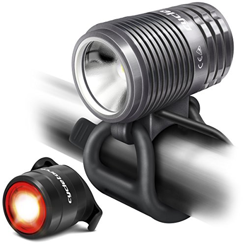 Cycle Torch Gt800 - Rechargeable Bike Light - 800 Lumens - Works with All Bicycles & Helmets - Easy Install & Lightweight
