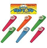 HENBRANDT 12 Kazoos (4 Assorted Colours)