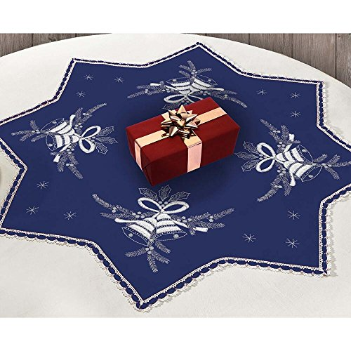 Herrschners® Holiday Bells Table Topper Stamped Embroidery Kit ()