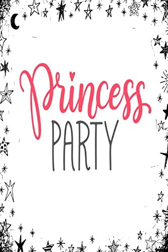Download Princess Party: Blank Journal Book Portable ebook