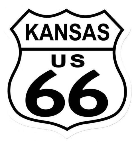 Pasado Tiempo Signos rd007 ruta 66 Kansas Street Signs ...
