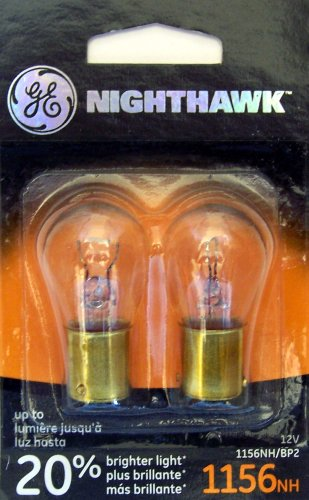 GE NIGHTHAWK 1156 Replacement Bulbs, (2 Pack) (1986 Chevrolet K10 Replacement)