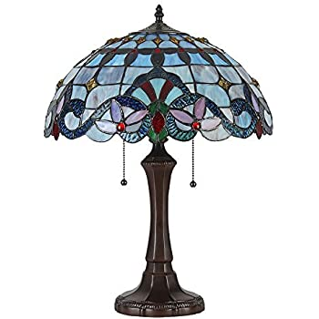 Amora Lighting Am060tl16 Tiffany Style Roses And