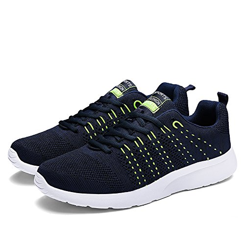 Sports Fashion Men's Breathable Black Lightweight runandup Athletic Running Casual Shoes Sneakers 6I5ppqAwx