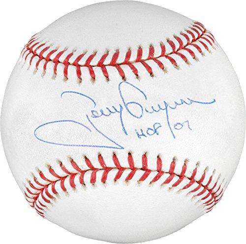 Sports Memorabilia Tony Gwynn San Diego Padres Autographed Baseball with HOF 07