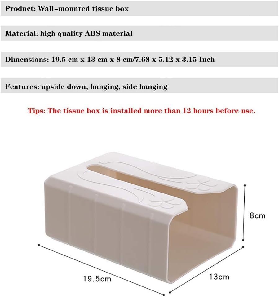 Porte Papier Toilette Support de couverture for bo/îte /à mouchoirs adh/ésifs montage mural//sous le placard sans support for porte-serviettes///étag/ère de distributeur for cuisine toilette cellier B