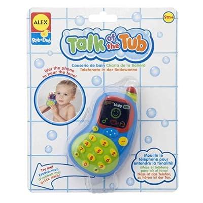 ALEX Toys Talk of the Tub : Bathtub Toys : Baby