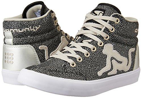 Drunknmunky BOSTON GALAXIA donna 307 scarpe silver zeppa Sneakers rXYnWazqr