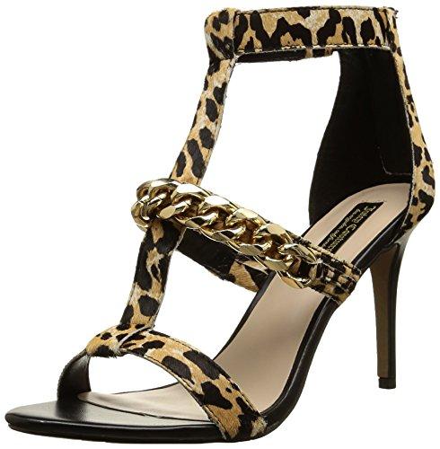 Juicy Couture Avita - Sandalias de vestir, Mujer Multicolor (leopardo)