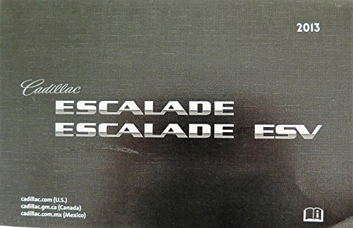 2013 Cadillac Escalade / Escalade ESV Owners Manual
