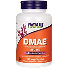 NOW Foods DMAE 250 mg VCaps, 100 ct