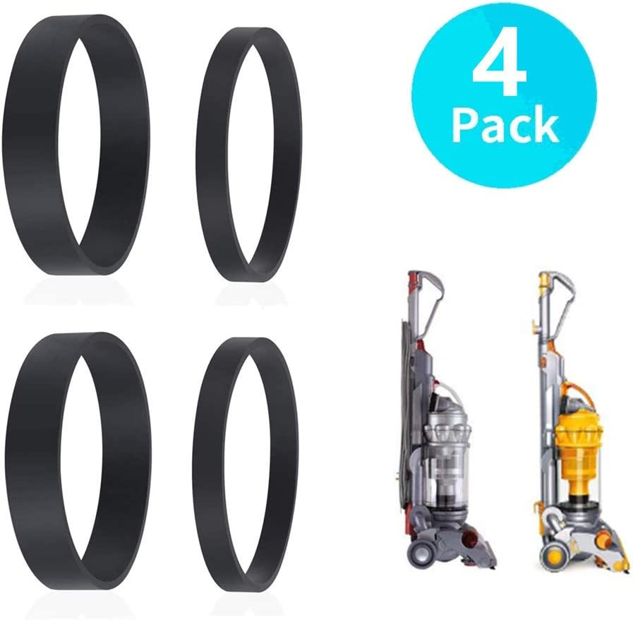 JEDE Belts Replacement for Dyson DC04,DC07,DC14 Vacuum Cleaner,Clutch Belt Set,Replace Part Number DY-902514-01 (2 Set)