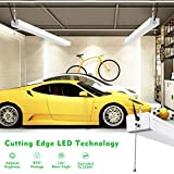 bulbeats LED Utility Shop Light 4ft 9600 Lumens