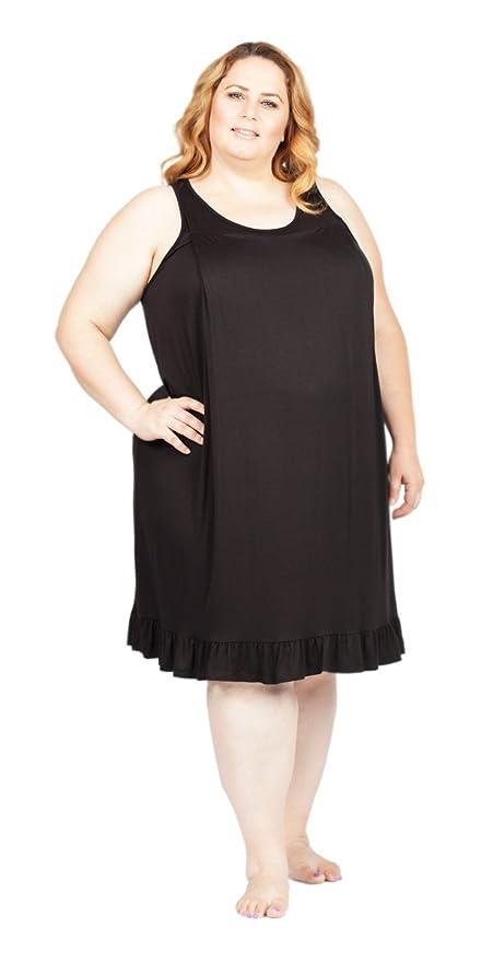 Savi Mom Plus Size Maternity Nursing Sleeveless Nightgown ...