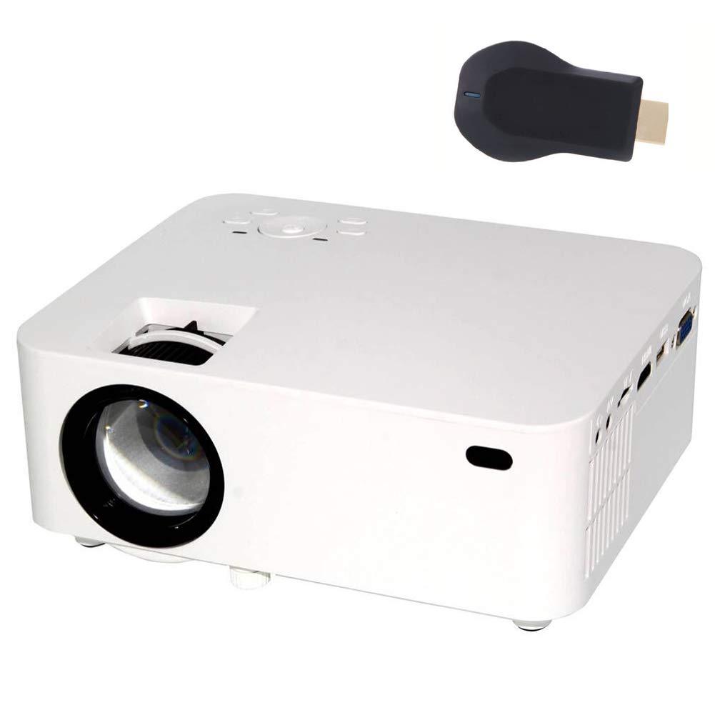 Amazon.com: QLPP 1800 lumens Projector,TFT LCD Theater ...