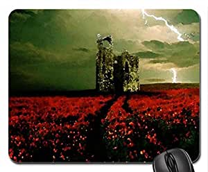 Lightening Strikes Mouse Pad, Mousepad (Sky Mouse Pad, 10.2 x 8.3 x 0.12 inches)