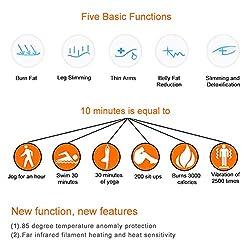 GOTOTOP Far Infrared Sauna Blanket Body Shaper Sauna Slimming Blanket Detox Therapy Machine Fitness
