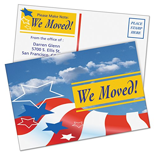 Amazon Avery 5889 Postcards Color Laser Printing 4 X 6