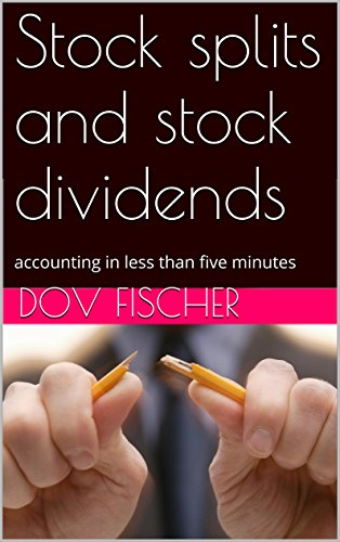Stock splits and stock dividends: accounting in less than five minutes